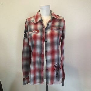 Passion to Road long sleeve shirt size L
